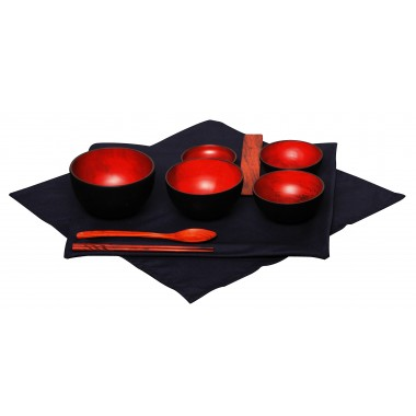 Mango Wood Jihatsu Bowls