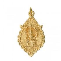 Vishnu Naga Om Pendant