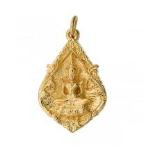 Emerald Buddha Naga Pendant