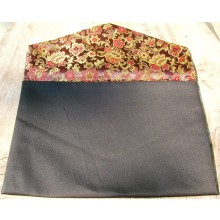 Reversible Rakusu Cases with Floral Brocade
