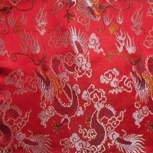 Brocade Altar Cloths with Large Dragons Brocade