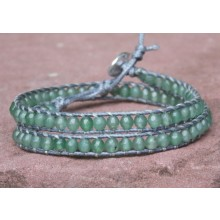 Aventurine Wrap Bracelet