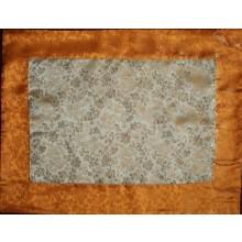 Gold & Yellow Dragons Silk Brocade Puja Table Cloth