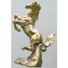 Brass Windhorse Statue