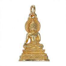 Buddha Pendant with Thai Script.