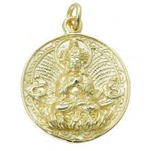 Vajradhara Coin Pendant