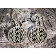 Mandala Design Earrings