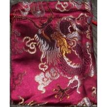 Large Dragons Brocade Mala Bags