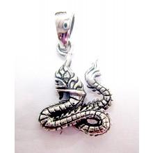 Naga Silver Pendant
