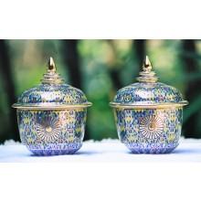 Painted Gilded Tea, Saké & Ink Sets with Logo
