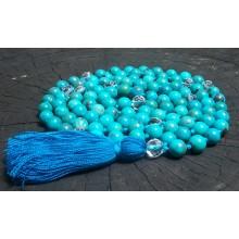 Natural Turquoise Mala