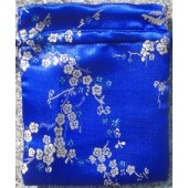 Plum Blossoms Brocade Mala Bags