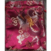 Large Dragons Brocade Mala Bags